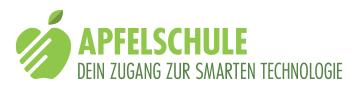 Logo: Apfelschule, dein Zugang zur smarten Technologie