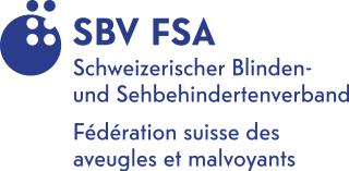 Logo: Schweizerischer Blinden- und Sehbehindertenverband